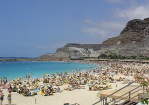 Plaża na Gran Canaria - Playa del Inglés